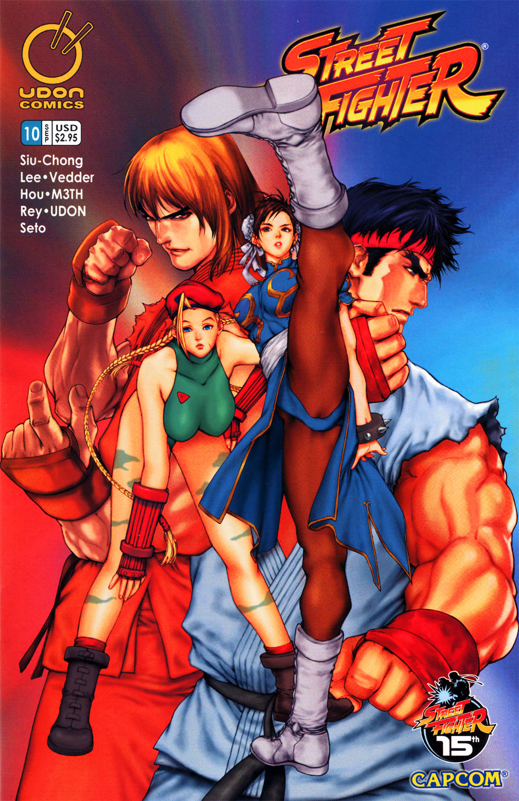 Street Fighter The Comic Series [Udon] | Enter Kiradrian